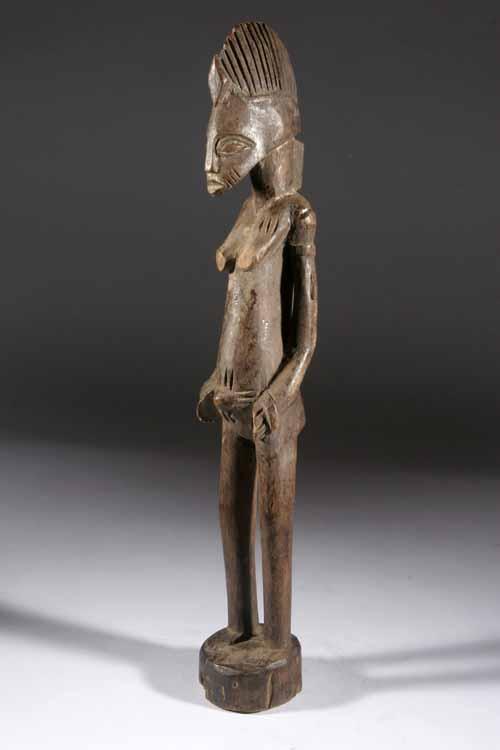 Sculpture Africaine En Bois - la statue dans l' ART AFRICAIN