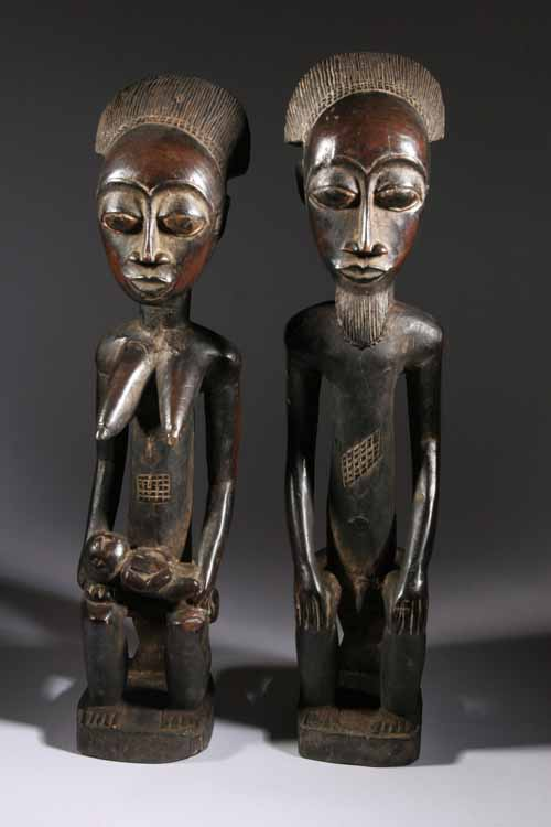 statue africaine homme