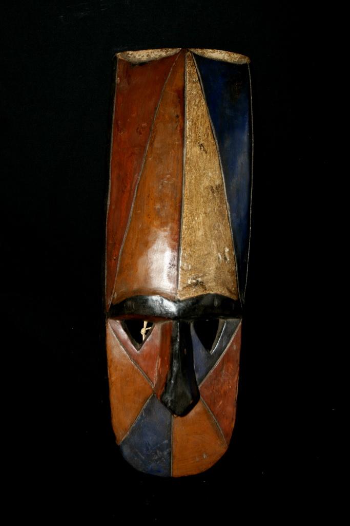 Le masque africain au nigeria - Peinture qui masque les imperfections ...