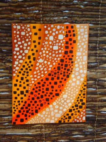 Peinture afrique blog for Peinture chambre style africain